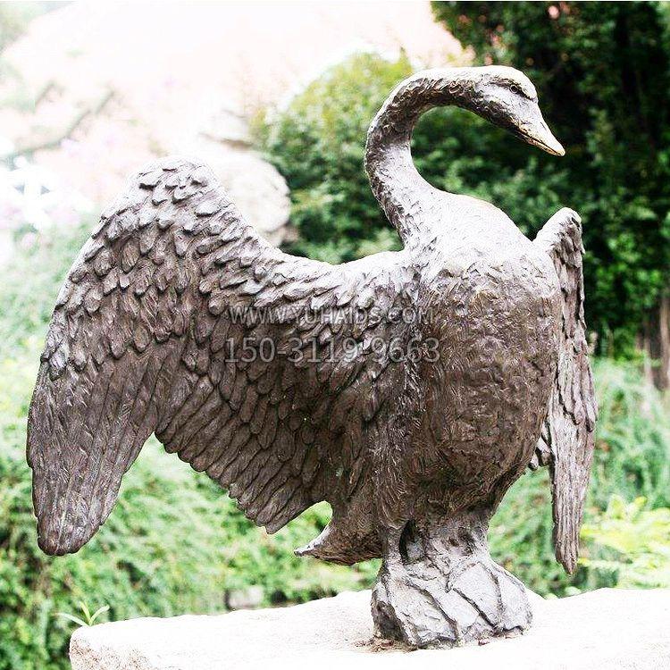 中国当代著名数学家铸铜华罗庚雕塑