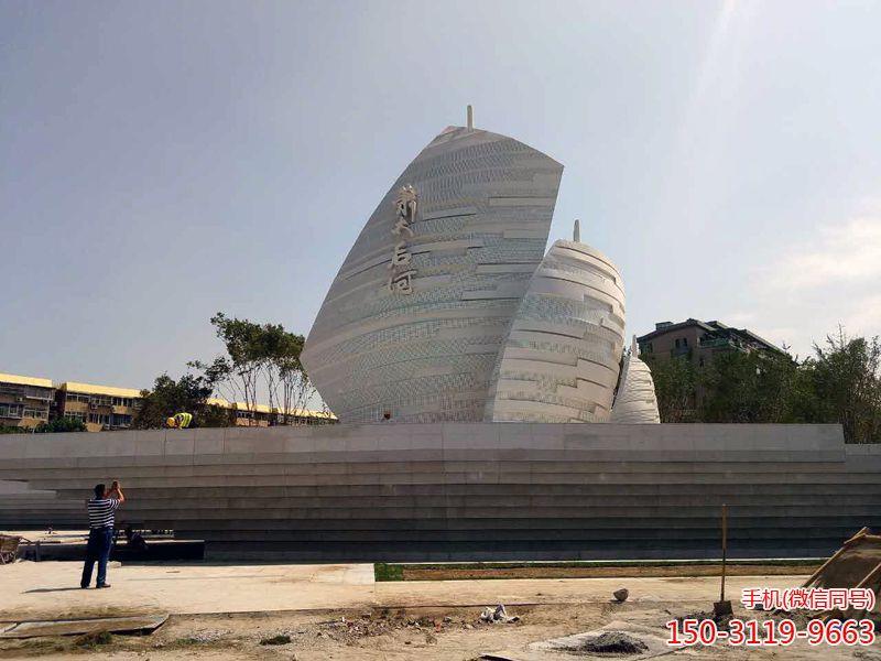 北京萧太后河不锈钢帆船船帆