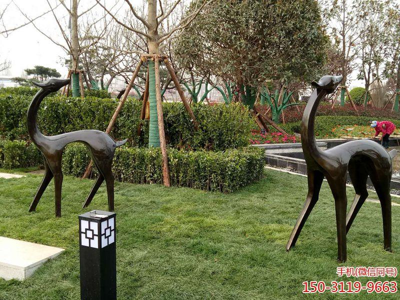 抽象长颈鹿