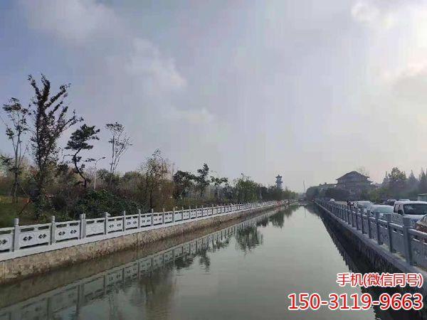 淮安市汉白玉石雕栏杆工程项目