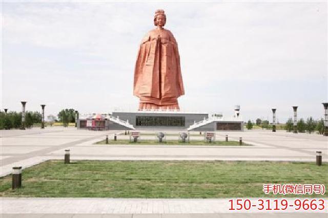 山西36米高孟母雕塑