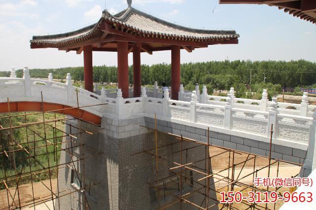武城弦歌湖公园-雕花汉白玉栏板