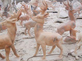 动物鹿雕塑